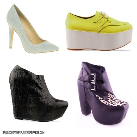 ASOS PARIS Point Court Shoe, JC Bundy, JC Zoe, JC Warrant